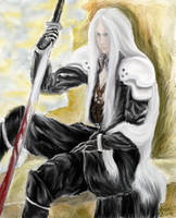 Sephiroth by Midori-ossan