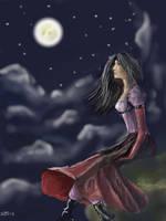 Pleine Lune by Midori-ossan