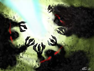 The dark shadows [escaflowne project] by Midori-ossan