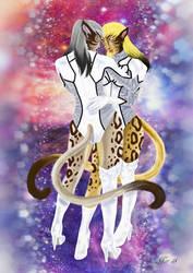 Naria and Eriya by Midori-ossan