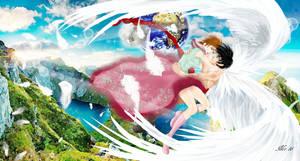 par dela les mondes by Midori-ossan