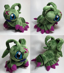 Digimon - Wormmom custom plush by KitamonPlush