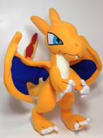 Pokemon - Charizard custom plush (for sale) by KitamonPlush