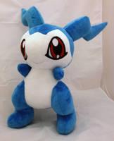 Digimon - DemiVeemon custom plush by KitamonPlush