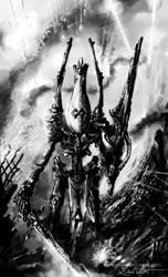 Wraithlord FanArt by Syrenion