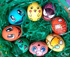 Pokemon Eggs by Red-Flare