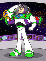 Buzz Lightyear of Star Command by Red-Flare