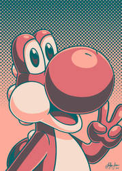 Yoshi Palette Portrait by Red-Flare