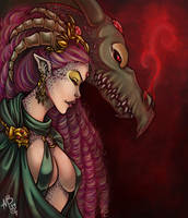 Dragon Lady by Harpyqueen