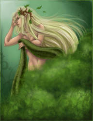 Dryad by Harpyqueen