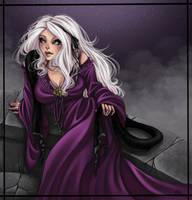 violet dreams by Harpyqueen