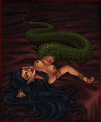 lady serpent by Harpyqueen