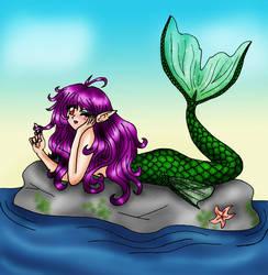 mermaid by Harpyqueen
