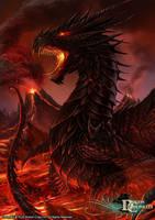 Dragon Chronicles - Black Dragon by RobertCrescenzio