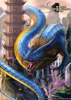 Dragon Chronicles - Ancient Chinese Dragon by RobertCrescenzio