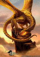 Dragon Chronicles - Golden Dragon by RobertCrescenzio