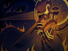 Huitzilopochtli by AdriansWall
