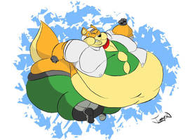 Waddling Fox McCloud by Joe-Awesome93