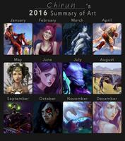 2016 Summary of Art by chirun