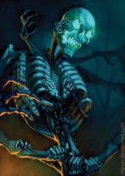 Skeletal Abomination by chirun