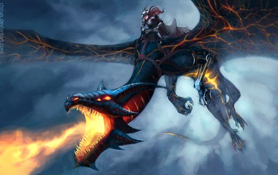 Dragon Rider by chirun