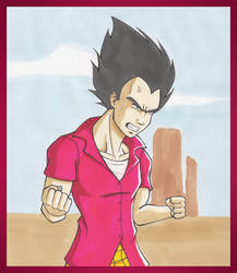 DBM fanfic : Angry Vegeta by Fayeuh
