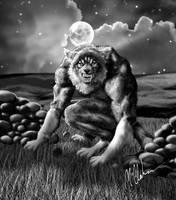 Werewolf finished by bushiboy