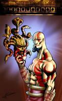 God of War - Medusa by Alainprem