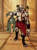 Ghost of Sparta by Alainprem
