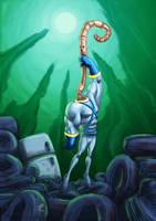 Earthworm Jim by Alainprem
