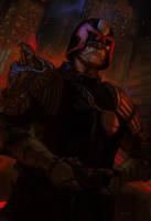 Judge Dredd by jeffszhang