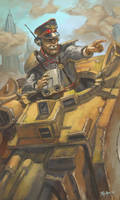 WH40K: Tank Commander by jeffszhang