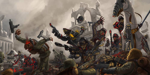 WH40K: Fearless by jeffszhang
