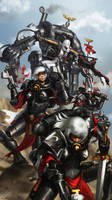 WH40K: Sisters of Battle by jeffszhang
