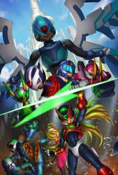 Megaman Zero by jeffszhang