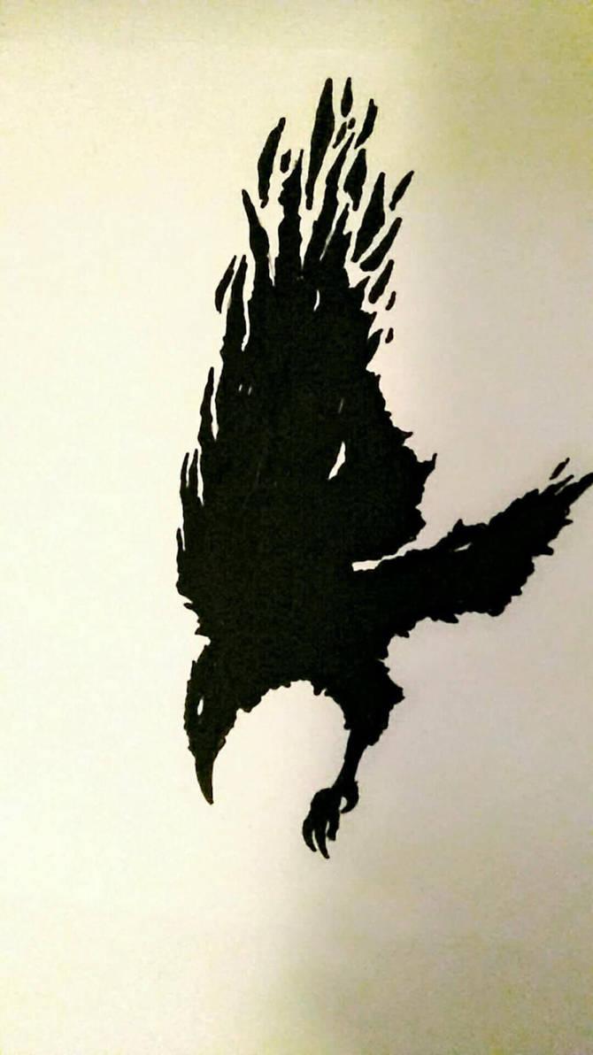 Crow by HiddenLordGhost