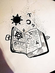 Book of Arcana by HiddenLordGhost