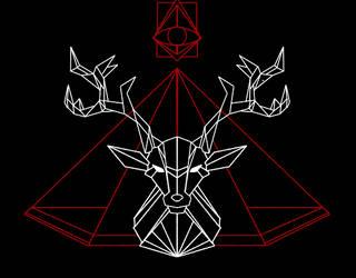 Deer god by HiddenLordGhost