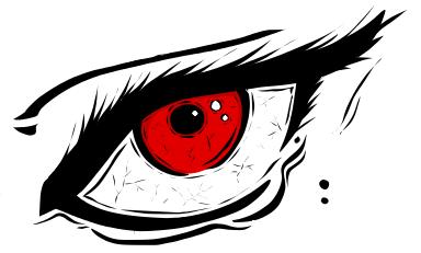 An eye. by HiddenLordGhost