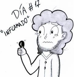 Inktober - Day 17 - Swollen/Inflamado by Juli4427