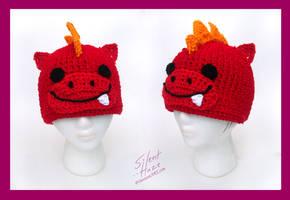 Dragon Hat by Silent--Haze
