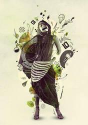 Aura Doodle by d4m