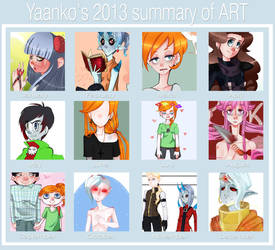 SUMMARY 2013 by Psychocolour