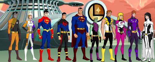 Legion of Superheroes  yj2 by Najarin