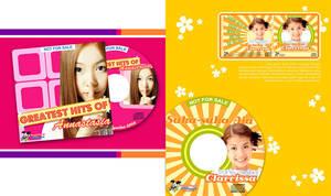 design for cd cover by novisurjadi