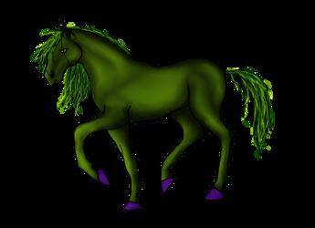 Hulk horse by H3llzAng3l