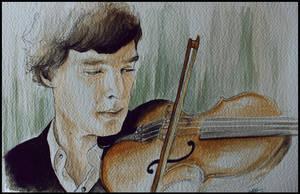 Sherlock: Violin by SallyGipsyPunk