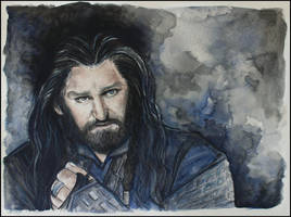 Thorin Oakenshield by SallyGipsyPunk