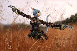 Esumi Aoi - Final Fantasy XIV by Evil-Siren