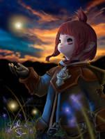 Lycoris Chan Final Fantasy XIV by Evil-Siren